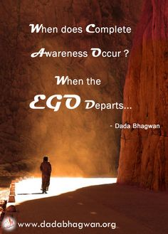Separate the ego from our true self with easy to follow spiritual methods that are rare to find in this era. To know more, log onto http://www.dadabhagwan.org