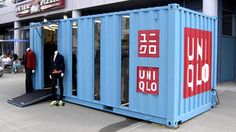 Pop-up store de Uniqlo.