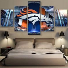 HD PRINTED LIMITED EDITION BRONCOS CANVAS
