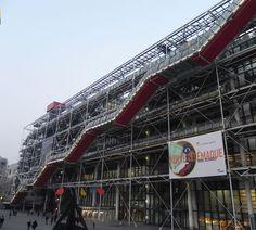 Centro Pompidou a Parigi