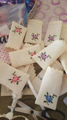 Floral cross stitch pincushion Counted Cross Stitch, Sewing … – Hair World Cross Stitching, Cross Stitch Embroidery, Hand Embroidery, Lavender Bags, Lavender Sachets, Cross Stitch Rose, Cross Stitch Flowers, Cross Stitch Designs, Cross Stitch Patterns