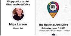 Drive By June Oakbank – Maja Larson Art My Photo Album, June 6th, Awareness Campaign, National Art, 100 Words, Make A Donation, It Works, Social Media, Instagram