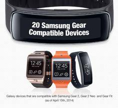 Samsung annuncia l'elenco completo dei dispositivi Galaxy compatibili con gli smartwatch Gear e Fit - http://www.tecnoandroid.it/samsung-annuncia-lelenco-completo-dei-dispositivi-galaxy-compatibili-con-gli-smartwatch-gear-e-fit/