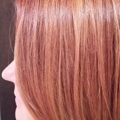 She is a dream guest...let's me have my way with her hair! #dreamcomeTrue #rosegold #atlantamidtown #colorsalon