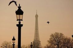 one day. I'll be in Paris.