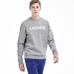 Men's Lacoste Branded Crew Neck Sweatshirt