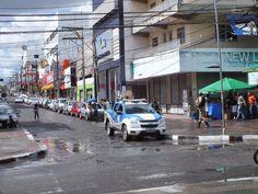 #LEIAMAIS WWW.OBSERVADORINDEPENDENTE.COM CAMAÇARI: Milagres ainda acontecem ... Viatura da PM é vista na praça Abrantes
