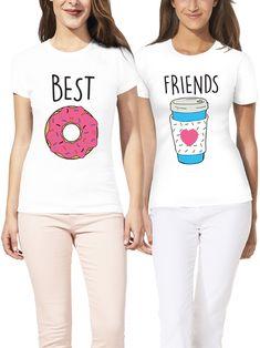 06004cf7 Donut shirt / best friend shirts / bff shirts / friends shirt / best friend  t