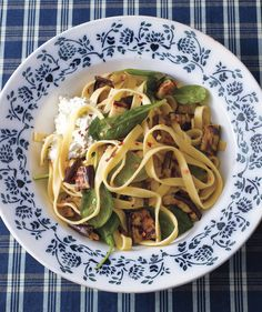Fettuccine With Spinach, Ricotta, and Grilled Eggplant   The incredibly versatile eggplant works in everything from Italian to Asian recipes. Bonus: Eggplant makes a tasty substitute for meat, too.