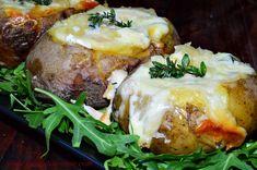 Reteta culinara Cartofi umpluti cu branzeturi, la slow cooker Crock Pot din categoria Slow Cooking. Cum sa faci Cartofi umpluti cu branzeturi, la slow cooker Crock Pot