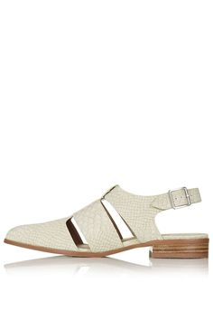 ODESSA Cut-Out Shoes - Topshop