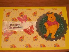 A 1st birthday card for my friend's daughter.