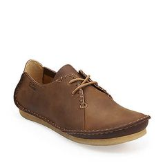 Faraway Field in Beeswax Leather - Womens Shoes from Clarks