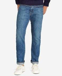Polo Ralph Lauren Men's Varick Slim-Straight Jeans - Stockton 38x32