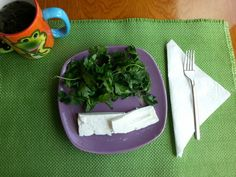 #breakfast #greenvegetables #greentea #whitecheese #light #nutrition #dieton #diet