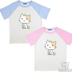 S-3XL Kawaii Kitty Unisex Shirt SP167271