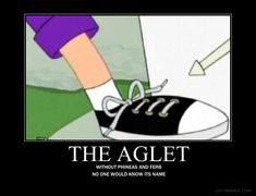 A-G-L-E-T AGLET! Don't forget it