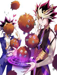 Pixiv Id 6074725, Yu-Gi-Oh!, Yu-Gi-Oh! Duel Monsters, Kuriboh, Yami Yugi, Mutou Yuugi