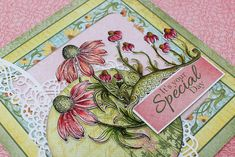 Backyard Blossoms stamps, papers and dies will be available in 5 days - Heartfelt Creations