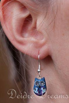 Owl Earrings  Polymer Clay Owl Earrings  Cute Owls by DeidreDreams, $17.00