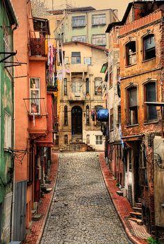 Balat Houses - Istanbul, Turkey