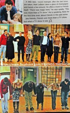 F.R.I.E.N.D.S was more than just a TV show - Matt