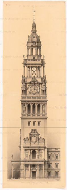Titel   Berliner Stadtschloss. Turm   Raschdorff, Julius  Berliner Stadtschloss…