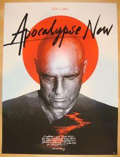 """2013 """"Apocalypse Now"""" - Movie Poster by Grzegorz Domaradzki"""