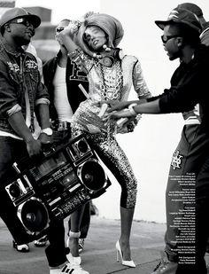 02   Anais Mali, Cora Emmanuel, Rob Evans, Travone Hill and Chrishell Stubbs for V Magazine Music Issue