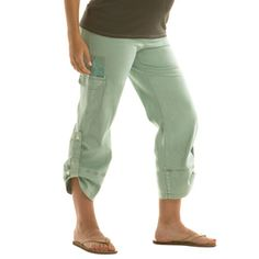 Crop Cargo Maternity Pant - Ming