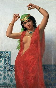 Rakkase by Emile Charles Hippolyte Lecomte-Vernet