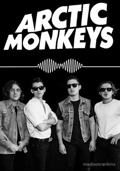 Arctic Monkeys Poster @rosekayaxoxo ♛❁☯☾ [Everyday for the 25 days of christmas I will follow back a follower]
