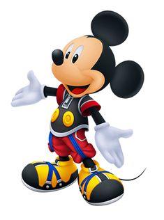 Artwork du Roi Mickey