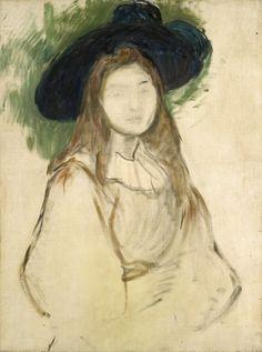 Berthe Morisot - Julie (?) Manet 1894