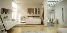 Tout pour la salle de bains: produits sanitaires, meubles de salles de bains et carrelages.