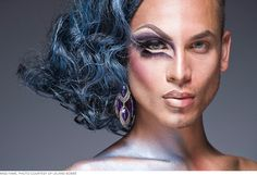 Leland Bobbé, Half-Drag series, art, photography, portraits. more pictures here: http://www.lelandbobbe.com/#/18/0