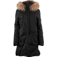 Spyder Women's Ice Down Jacket by Spyder. $419.99. You'll look as great as you feel in the Spyder Women's Ice Down Jacket. This full-length down coat features real coyote fur on the hood and 650-fill down insulation to keep you toasty warm. The cut offers uncompromised warmth from head to toe, and the polyester satin lining makes slipping into this parka as smooth as it feels. The abstract quilting pattern keeps the down in place, while the downproof nylon exter...