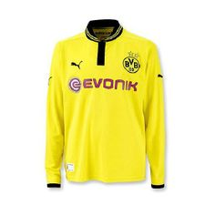 Maillot Dortmund, 2013, Puma, Athletic, Jackets, Collection, Fashion, Yellow, Long Dress Patterns