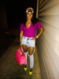 cut out Rasheeda New Outfits, Summer Outfits, Cute Outfits, Celebrity Look, Celeb Style, Cut Out Jeans, Cute Everyday Outfits, Diva Fashion, Fashion Trends