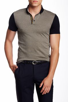 9c3edbf13f Magshow Jacquard Polo by Ted Baker London on  nordstrom rack Ted Baker  Tshirts