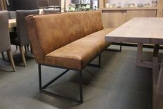 Booth Seating, Industrial Living, Dining Bench, New Homes, House Design, Interior, Furniture, Home Decor, Dutch