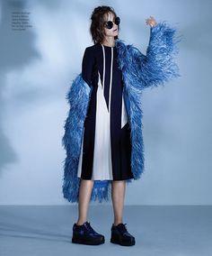 #Tb90s: Marta Dyks By Hans Neumann For Harper's Bazaar Mexico And Latin America November 2014