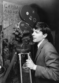John Cassavetes filming Shadows
