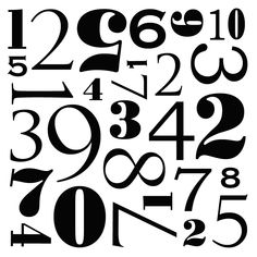 Number Tray Template