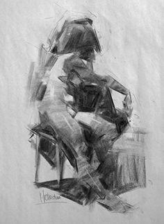 Adrian Seated by Jennifer McChristian ~ x