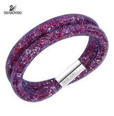 Swarovski Multi Color Crystals Double Bracelet STARDUST #5189760 Medium