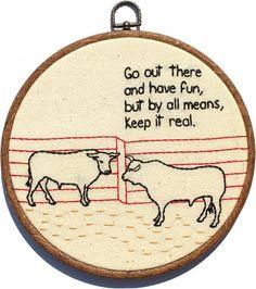 embroidery hoop idea