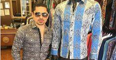 El cantante estadounidense de narcocorridos Larry Hernandez que hace poco se vio envuelto en un problema judicial por estar acusado de secuestro a un promotor de conciertos en el 2015, ahora da de que hablar en su cuenta oficial de Facebook tras posar junto a la famosa camisa de 'El Chapo'.