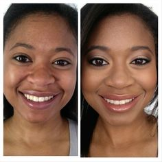 #Temptu Before & After flawless finish, great for evening skin tone. The renowned formula mimics the appearance of skin for the natural-looking, flawless complexion.