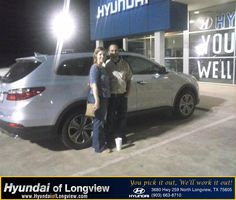 https://flic.kr/p/vHeFpN | #HappyAnniversary to Stephanie Bradley on your 2013 #Hyundai #Santa Fe from Laura Heddin at Hyundai of Longview! | www.hyundaioflongview.com